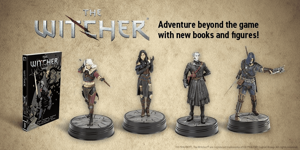 New Witcher Merchandise